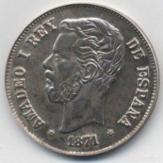 Monedas locales: MEDALLA DEL CENTENARIO DEL DURO. AMADEO DE SABOYA. ACUÑACIÓN DE 500 MEDALLAS. 1871*18*73 N-178. Lote 135578670