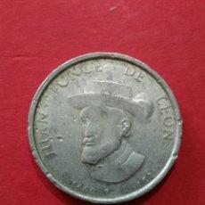 Monedas locales: FICHA/JETÓN/TOKEN. JUAN PONCE DE LEON. DETERGENTE TU - TU.. Lote 118087919