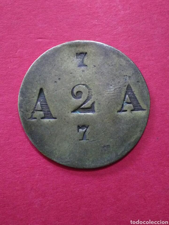 FICHA/JETÓN/TOKEN. ANTIGUA. A IDENTIFICAR. (Numismática - España Modernas y Contemporáneas - Locales y Fichas Dinerarias y Comerciales)