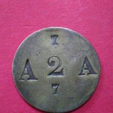 Monedas locales: FICHA/JETÓN/TOKEN. ANTIGUA. A IDENTIFICAR.. Lote 118090736