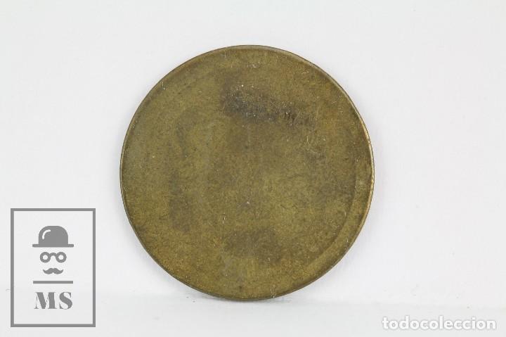 Monedas locales: Antigua Ficha Dineraria - Valencia. 40 Céntimos - Diámetro 23 mm - Foto 2 - 118889039