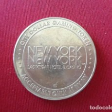 Monedas locales: CASINO NEW YORK. LAS VEGAS. NEVADA. ONE DOLLAR.. Lote 119866735