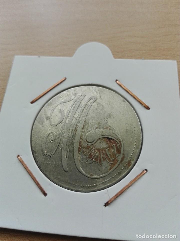 Monedas locales: M. Suárez. 10 céntimos de consumo - Foto 2 - 120883575