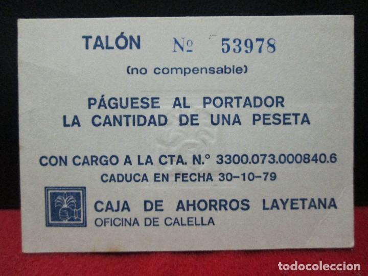 Monedas locales: VALE DE 1 PESETA CENTRO DE INICIATIVAS MARESME TURISTIC - Foto 2 - 121108219