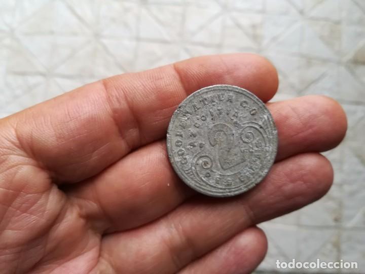 FICHA MONEDA COOPERATIVA AZKOITIA 2 PESETAS. (Numismática - España Modernas y Contemporáneas - Locales y Fichas Dinerarias y Comerciales)