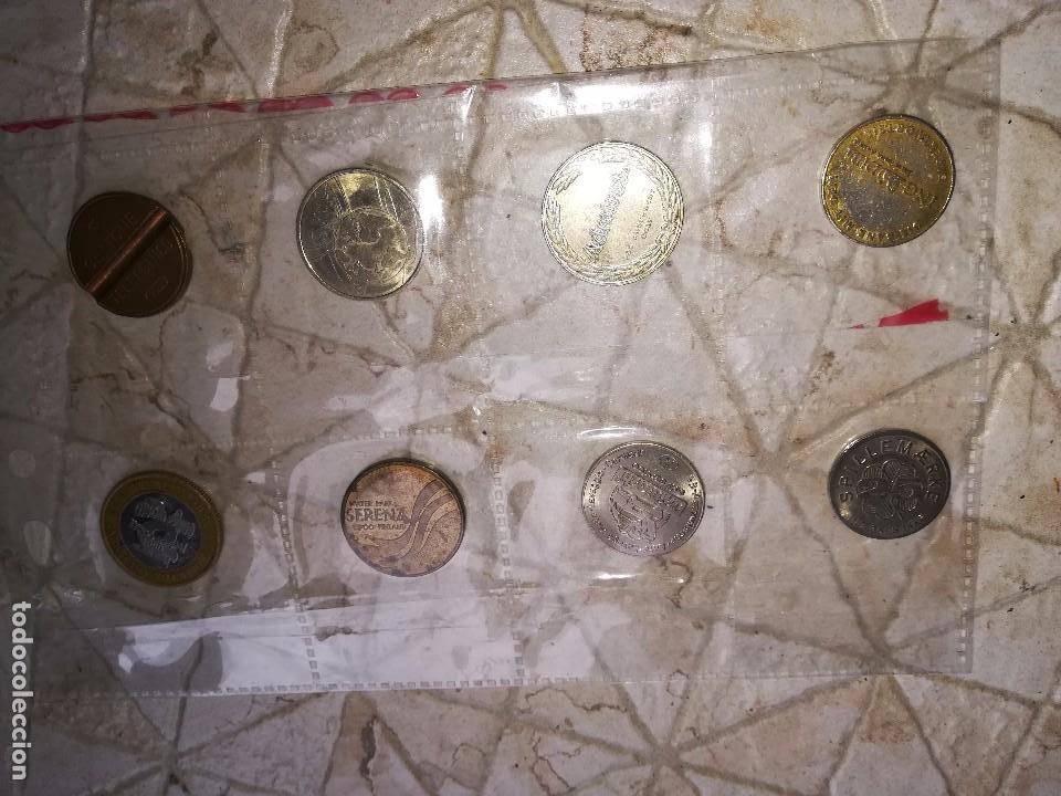 COLECCIÓN FICHA MONEDA TOKEN. TELÉFONO. MONEDA (Numismática - España Modernas y Contemporáneas - Locales y Fichas Dinerarias y Comerciales)