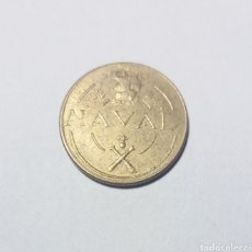 Monedas locales: FICHA NAVAL TALLERES SAN CARLOS 1948. Lote 122257972