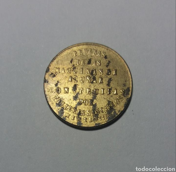 Monedas locales: FICHA NAVAL TALLERES SAN CARLOS 1948 - Foto 2 - 122257972