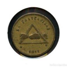 Monedas locales: FICHA, COOPERATIVA FRATERNIDAD, VALOR: 10 CÉNTIMOS, (BARCELONETA). Lote 123497147
