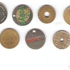 Monedas locales: 1 LOTE DE FICHAS TOKEN LOTE 5. Lote 124021971