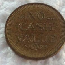 Monedas locales: TOKEN NO CASH VALUE FICHA JUEGO. Lote 124332516
