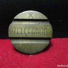 Monedas locales: FICHA TELEFONICA. Lote 128008331