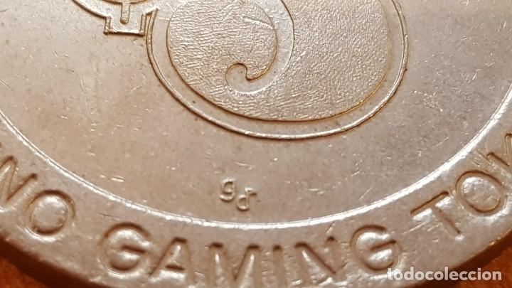 Monedas locales: FICHA DE CASINO / FIVE DOLLAR - CASINO GAMING TOKEN / 45mm Ø / MUY BUEN ESTADO. - Foto 6 - 130302454