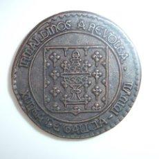 Monedas locales: FICHA JETÓN TOKEN **JUEGO DE ROL **IRMANDIÑOS A REVOLTA** CASTILLO MONTERREI**VERÍN**. Lote 130333516