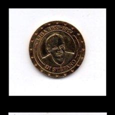 Monedas locales: FICHA, TOKEN, MONEDA COMMEMORATIVA DI STEFANO, REAL MADRID.. Lote 130616034