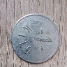 Monedas locales: FICHA DE 1 KILO DE HARINO-PANADERA DE BILBAO. Lote 130778068