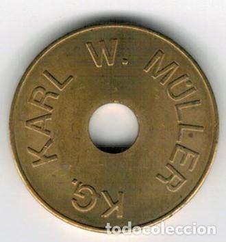 Monedas locales: FICHA - TOKEN - JETÓN - ALEMANIA - KARL W. MULLER - Foto 2 - 131292915