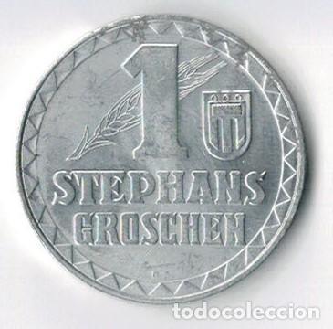 FICHA - TOKEN - JETÓN - 1 STEPHANS GROSCHEN - AUSTRIA (Numismática - España Modernas y Contemporáneas - Locales y Fichas Dinerarias y Comerciales)