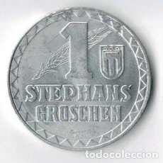 Monedas locales: FICHA - TOKEN - JETÓN - 1 STEPHANS GROSCHEN - AUSTRIA. Lote 131848370