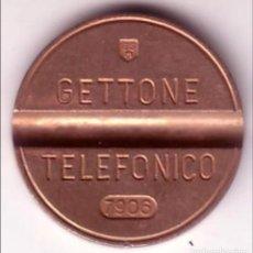Monedas locales: FICHA TELEFONICA ITALIA-7906. Lote 131890282