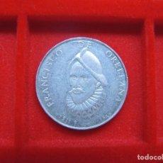 Monedas locales: FICHA - MEDALLA FRANCISCO DE ORELLANA, ESCUDO HERÁLDICO. Lote 133227802