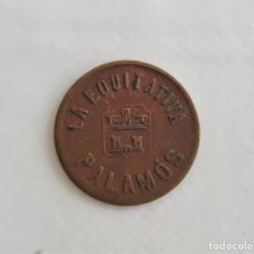 Monedas locales: F 1956 MONEDA EQUITATIVA PALAMOS 2 CENTIMOS. Lote 133500674