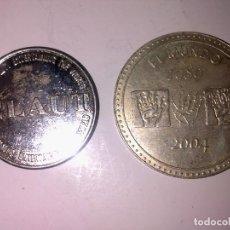 Monedas locales: FICHA MONEDA ELAUT Y EL MUNDO. Lote 134033522