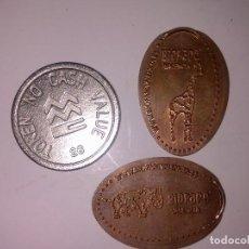 Monedas locales: TOLKEN Y FICHAS DEL BIOPARC. Lote 134034194