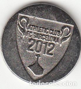 Monedas locales: FICHA: 2012 ATHLETIC HIRIA - FINAL COPA DEL REY CONTRA EL BARCELONA - Foto 2 - 135192294