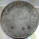 Monedas locales: FICHA DE LA COOPERATIVA CASA DEL POBLE (TORELLÓ) - 5PTS - 3030V. Lote 135675491