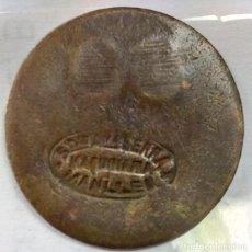 Monedas locales: FICHA DE LA SOCIEDAD ANÓNIMA SERRA - MAQUINARIA (MANLLEU) - 50 CTS - AL2955. Lote 135676191