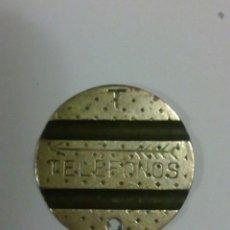 Monedas locales: RARA FICHA DE TELEFONOS.. Lote 135851186