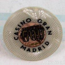 Monedas locales - Ficha de casino, Casino Gran Madrid,500 pesetas - 137114058