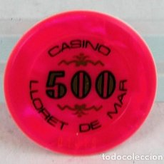 Monedas locales - Ficha de casino, Lloret de Mar, 500 pesetas - 137420738