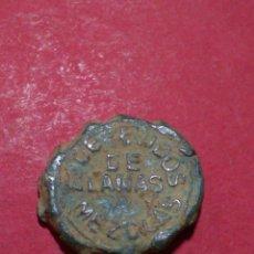 Monedas locales: ANTIGUO MARCHAMO. FCA DE TEJIDOS E HILADOS. BUENAVENTURA COSTA. BARCELONA.. Lote 137796778