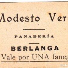 Monedas locales: VALE DE PAN DE EXTREMADURA. Lote 138963646