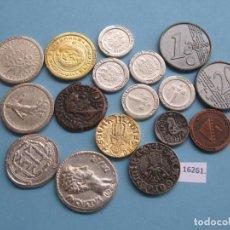 Monedas locales: LOTE FICHAS REPRODUCCIONES DE MONEDAS, TOKEN, JETON. Lote 139064382