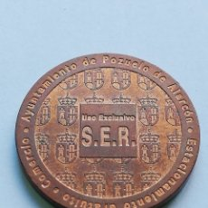 Monedas locales: ## FICHA DE S.E.R. - POZUELO DE ALARCON (MADRID) FNMT ##. Lote 139757146