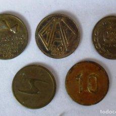 Monedas locales: LOTE DE MONEDAS DE MAQUINAS RECREATIVAS .VER IMÁGENES AMPLIADAS.. Lote 141501122