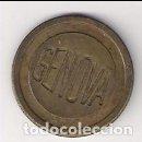 Monedas locales: ANTIGUA FICHA DE 40 CÉNTIMOS DEL CAFÉ CALLE GÉNOVA DE SEVILLA. (C133). Lote 142687026