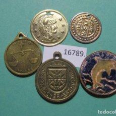 Monedas locales: LOTE MEDALLAS , TOKEN, JETÓN. Lote 143106670