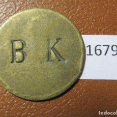 Monedas locales: FICHA PAN, ALEMANIA, MONEDA DE NECESIDAD, TOKEN, JETÓN. Lote 143155866