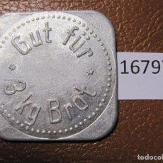 Monedas locales: FICHA PAN, ALEMANIA, MONEDA DE NECESIDAD, TOKEN, JETÓN. Lote 143155922