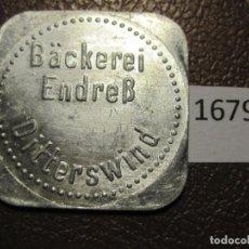 Monedas locales: FICHA PAN, ALEMANIA, MONEDA DE NECESIDAD, TOKEN, JETÓN. Lote 143156014