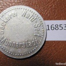 Monedas locales: FICHA PAN, ALEMANIA, MONEDA DE NECESIDAD, TOKEN, JETÓN. Lote 143156126