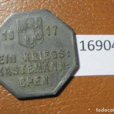 Monedas locales: MÜLHEIM RUHR ALEMANIA, 25 PFÉNNIG 1917, MONEDA DE NECESIDAD, FICHA, NOTGELD, TOKEN, JETÓN. Lote 143193674