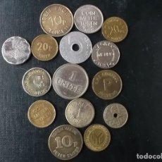 Monedas locales: COLECCION TOKENS , JETONS FICHAS COMERCIALES. Lote 143253254