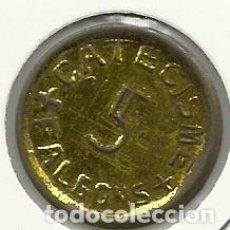 Monedas locales: (FCP-16)FICHA 5 CATECISME - FALGONS(GIRONA). Lote 143296882