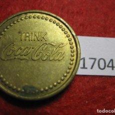 Monedas locales: FICHA COCA COLA, ALEMANIA, CONSUMICIÓN, MONEDA DE NECESIDAD, TOKEN, JETÓN. Lote 143941998