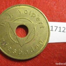 Monedas locales: FICHA, TOKEN, JETÓN. Lote 143942290